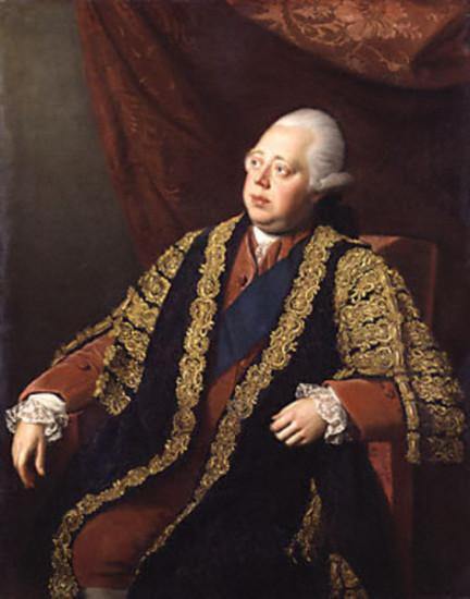 Thủ tướng Anh Lord North. Ảnh: Wikipedia.