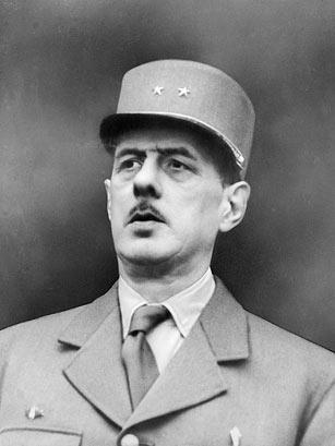 Tướng Charles De Gaulle. Ảnh: LAPI / Roger Viollet / Getty Images