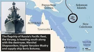 Vị trí của bốn tàu chiến Nga trong những ngày họp Thượng đỉnh G-20