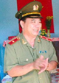 Thiếu tướng Hồ Quốc Việt, cựu Giám đốc Công an tỉnh Bến Tre.