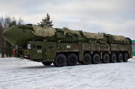 Tên lửa đạn đạo liên lục địa thế hệ thứ năm RS-24 Yars (SS-29)