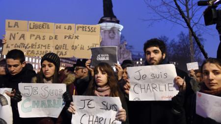 Tuần hành sau vụ khủng bố ở Paris
