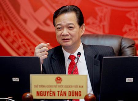 TT Nguyễn Tấn Dũng. Ảnh Internet