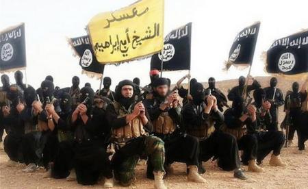 Các tay súng của nhà nước Hồi Giáo tự xưng ISIS