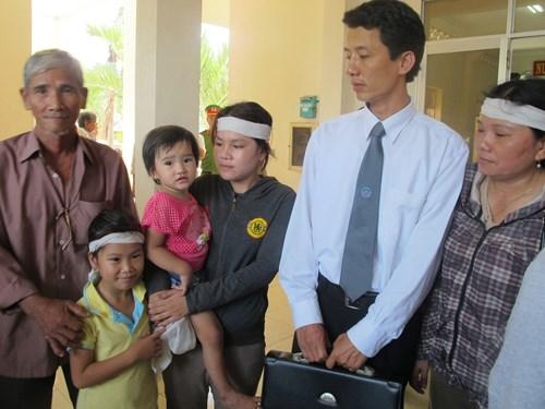 Luật sư Võ An Đôn, người bảo vệ quyền lợi cho gia đình nạn nhân Ngô Thanh Kiều. Ảnh: Tấn Lộc