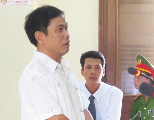 Từ kiến nghị của Luật sư Võ An Đôn, ông Lê Đức Hoàn, nguyên Phó Công an TP Tuy Hòa, đã bị khởi tố và truy tố. Ảnh: Tấn lộc