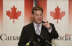 Ngoại trưởng Canada John Baird. Ảnh www.scnow.com