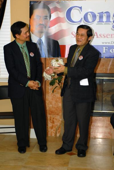 Anh Huỳnh Lương Thiện, chủ nhiệm báo Mõ San Francisco