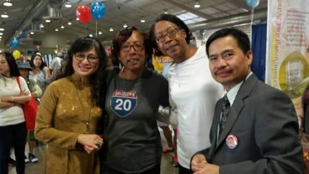 Các sắc dân khác trong Địa hạt 27 cũng ủng hộ UCV