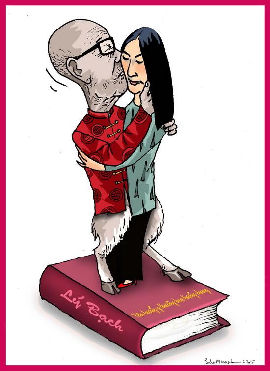 Kiểu hôn của Vũ Khiêu đã đi vào Văn học Sử