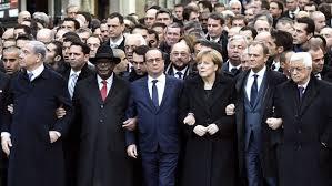 Các lãnh đạo thế giới diễu hành ở Paris sau vụ khủng bố.