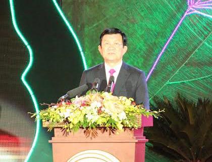 Ông Trương Tấn Sang. Ảnh VNN