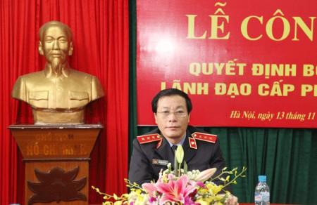 Phó Viện trưởng Viện kiểm sát NDTC Nguyễn Hải Phong: Chúng tôi phải tin điều tra viên, kiểm sát viên của mình. Ảnh: VKSNDTC