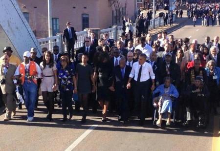 (Selma- Alabama, March 7, 2015)