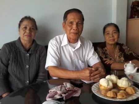 Lê Văn Tính, 91 ấp Trung 1, thị trấn Phú Mỹ, huyện Phú Tân, tỉnh An Giang. Con trai Lê Trọng Nghĩa, 01662963751