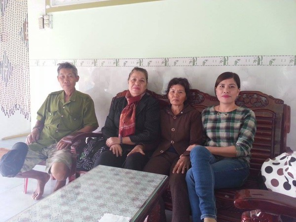 Cha mẹ TNLT Nguyễn Thái Bình