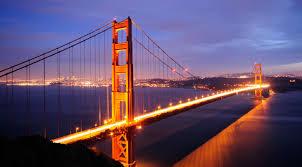 Cầu Golden Gate, California.