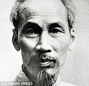 Hình Hồ Chí Minh trên báo Anh