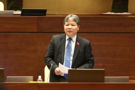Bộ trưởng Tư pháp Hà Hùng Cường. Ảnh: Minh Quang