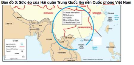 :Sức ép của Hải quân Trung Quốc lên nền quốc phòng Việt Nam