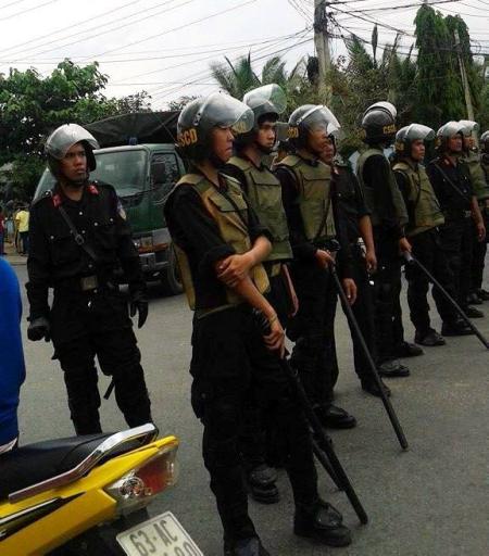 Khu Công Nghiệp Tân Hương-Tỉnh Tiền Giang, hôm 2 tháng 4. Ảnh:  FB Hành Nhân