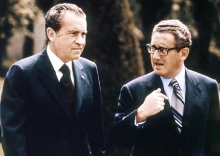 TT Nixon và Kissinger. Ảnh ows.edb.utexas.edu