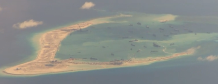 Trung Cộng xây đảo nhân tạo thứ nhì tại quần đảo Trường Sa- Việt Nam: