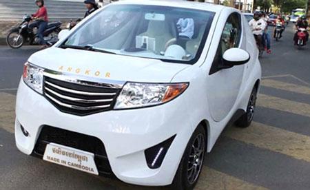 Ô tô chạy điện của Campuchia -  Angkor EV 2013