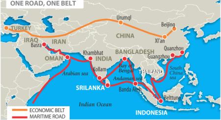Bản đồ còn đường TƠ LỤA (Marine Road):