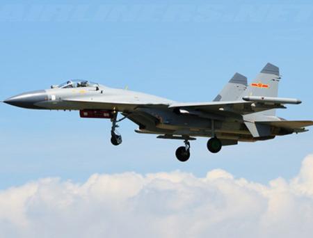 Tiêm kích J-11 Trung Quốc thực chất là bản copy của tiêm kích Su-27SK của Nga - Ảnh: Wikipedia
