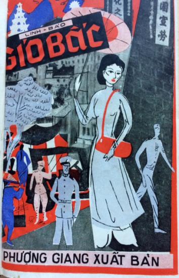 hình bìa Gió Bấc do Phượng Giang xuất bản 1953