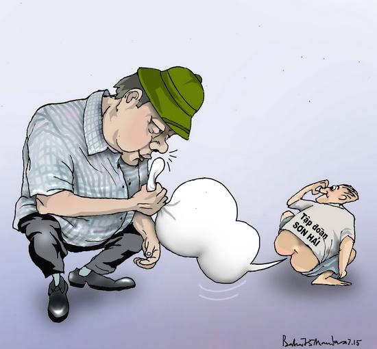 Thăng đang giám định y khoa mùi cóc chết  XHCN