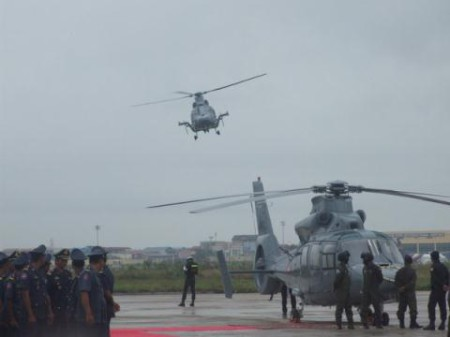 Cambodia tiếp nhận trực thăng Z-9 của Trung Quốc