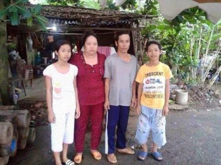 Gia đình cháu Tuấn