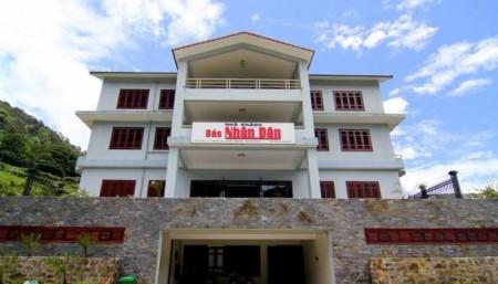 Nhà Khách Báo Nhân Dân Ở Tam Đảo.Nguồn ảnh: toa-soan-bao-nhan-dan-tam-dao-hotel