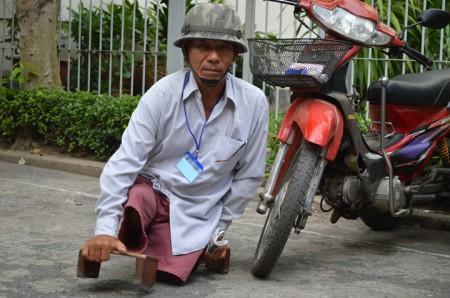 Thương phé binh VNCH. Ảnh Dongchuacuuthe