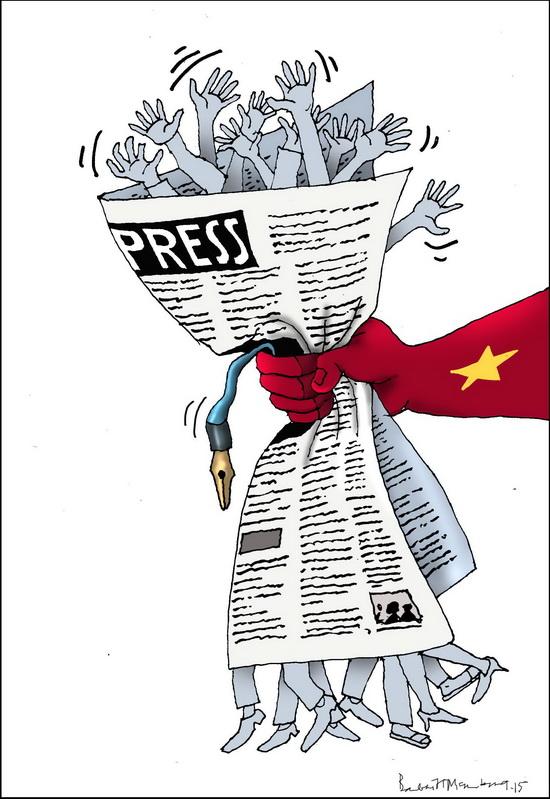Luật báo chí phức tạp và nhạy cảm