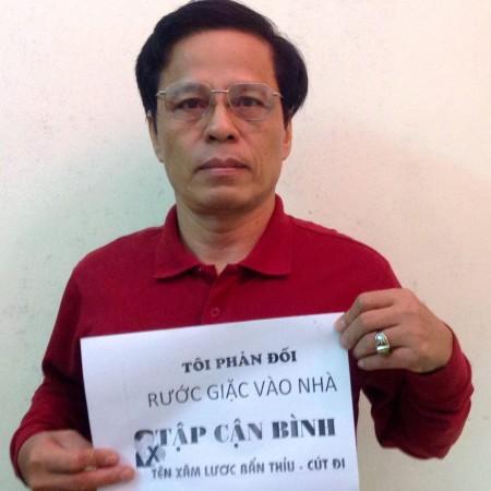 FB đang dấy lên phong trào phản đối chuyến thăm của Tập Cận Bình. Ảnh FB JB Nguyễn Hữu Vinh