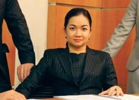 Bà Nguyễn Thanh Phượng, con gái thủ tướng Nguyễn Tấn Dũng.