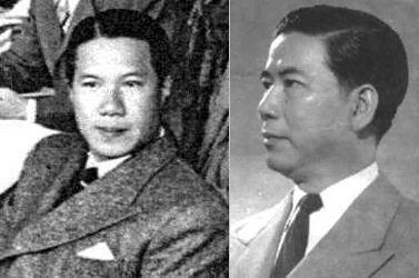 Cựu hoàng Bảo Đại và cựu TT Ngô Đình Diệm