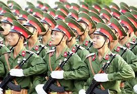 Quân đội VN. Ảnh mang tính minh họa