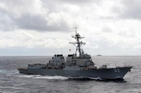 Tầu hải quân Mỹ ở Biển Đông
