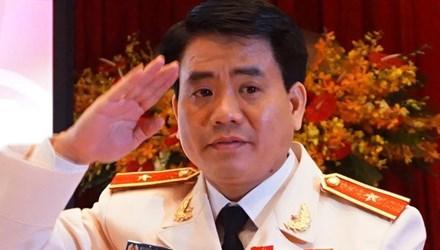 Giám đốc Công an TP Hà Nội, Thiếu tướng Nguyễn Đức Chung. Ảnh: Zing.