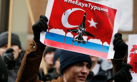 Biểu tình chống Thổ tại Moscow