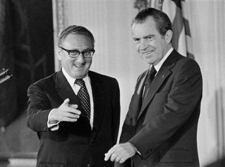 Kissinger và Nixon