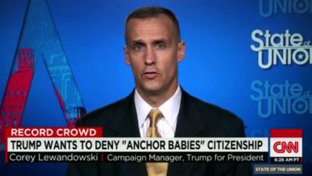 Ông Corey Lewandowski. Ảnh www.politifact.com