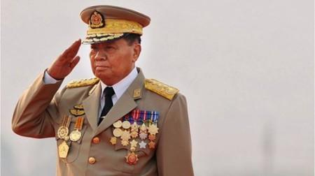 Thống tướng Than Shwe, ảnh: BBC/Getty.