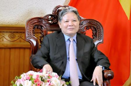 ông Hà Hùng Cường, Uỷ viên Trung ương Đảng, Bộ Trưởng Bộ Tư Pháp