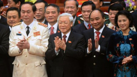 """Liệu đây có phải """"tứ trụ"""" mới? Photos AFP"""