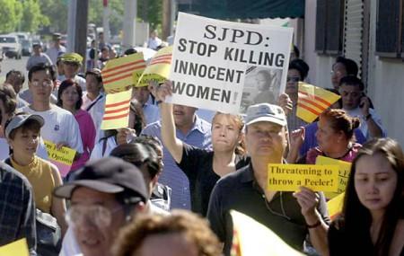 Người Việt biểu tình vụ Bích Câu
